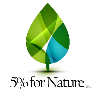 5% of all profits support important nature programs.